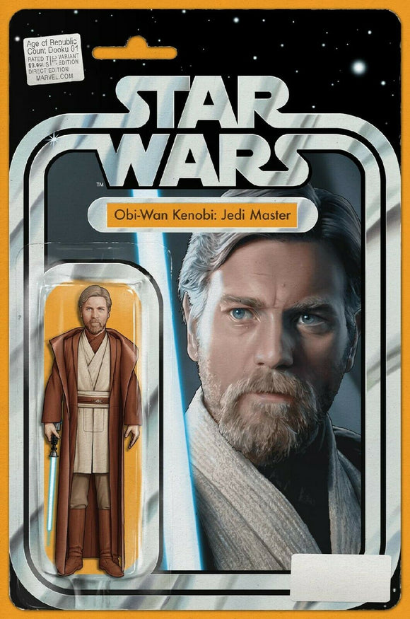 Pre-Order: Age of Republic: Count Dooku #01 – Obi-Wan Kenobi EXCLUSIVE Action Figure Variant! - Mutant Beaver Comics