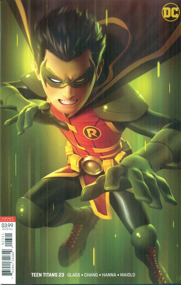 TEEN TITANS #23 Cover B Alex Garner