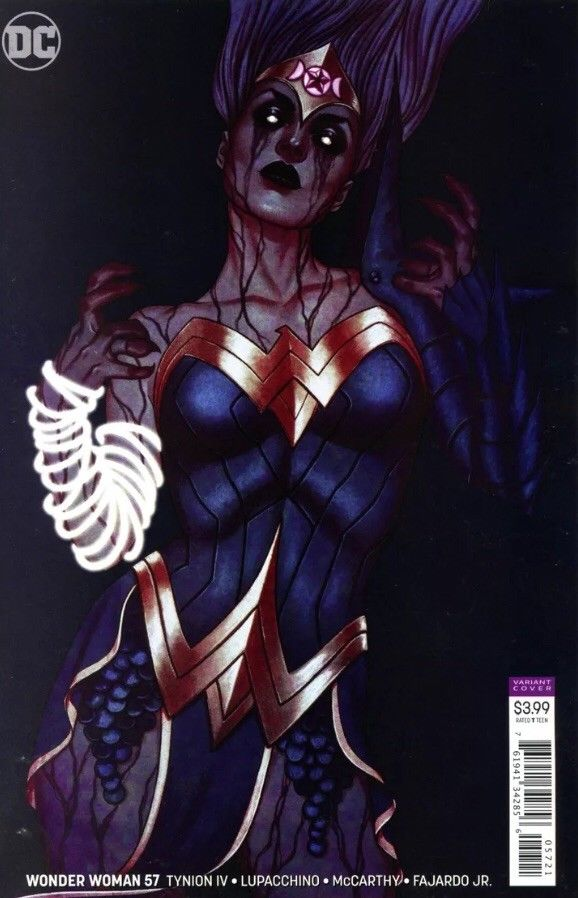 WONDER WOMAN #57 Cover B Jenny Frison