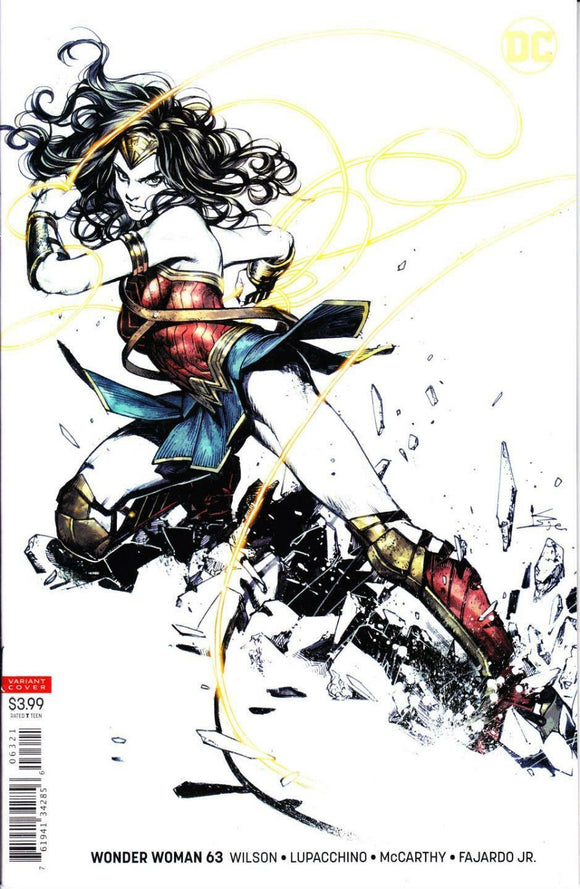 WONDER WOMAN #63 Cover B SHIRAHAMA Variant! ***RED HOT!***