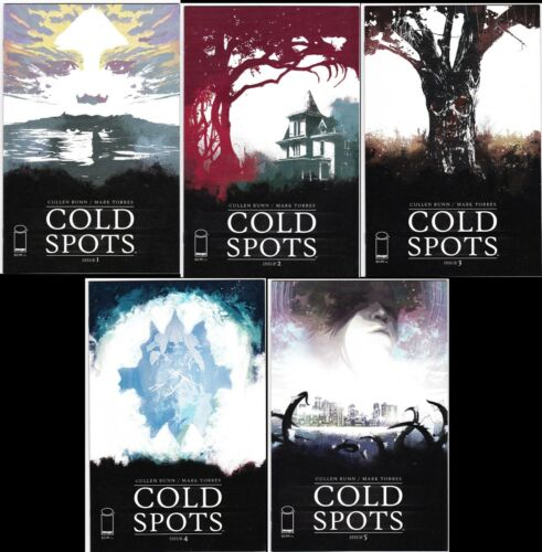 COLD SPOTS #1 - 5 Complete Set from Cullen Bunn! 1st Prints