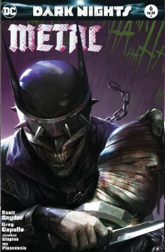DARK NIGHTS: Metal #6 Mattina TRADE DRESS! - Mutant Beaver Comics