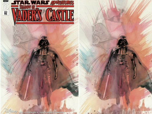 Pre-Order: SHADOWS OF VADER'S CASTLE #1 David Mack Exclusive! (Ltd to ONLY 501 Copies w/ COA) 10/28/20