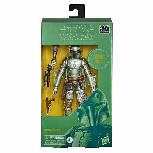 STAR WARS: The Black Series Carbonized Boba Fett 6-Inch Action Figure! (Only 3 LEFT!!) - Mutant Beaver Comics