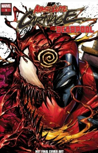 ABSOLUTE CARNAGE VS DEADPOOL #1 Tyler Kirkham Exclusive! - Mutant Beaver Comics