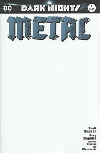 DARK NIGHTS METAL #1 BLANK - Mutant Beaver Comics