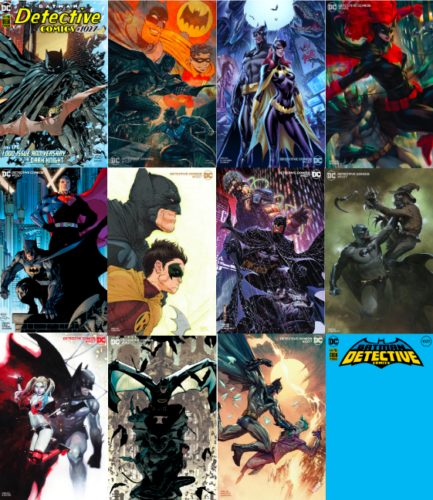 Pre-Order: DETECTIVE COMICS #1027 Giant-Sized Squarebound COMPLETE SET of 12 Covers! 09/22/20 - Mutant Beaver Comics