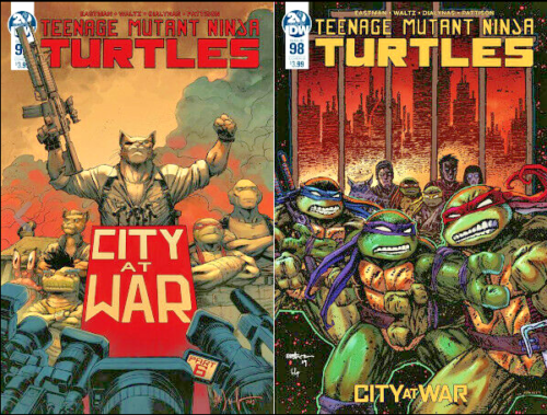 TEENAGE MUTANT NINJA TURTLES #98 SET (Cover A & B) - Mutant Beaver Comics