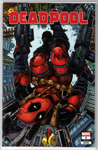 DEADPOOL #1 KEVIN EASTMAN EXCLUSIVE! ***Final Art with have TRADE DRESS*** - Mutant Beaver Comics