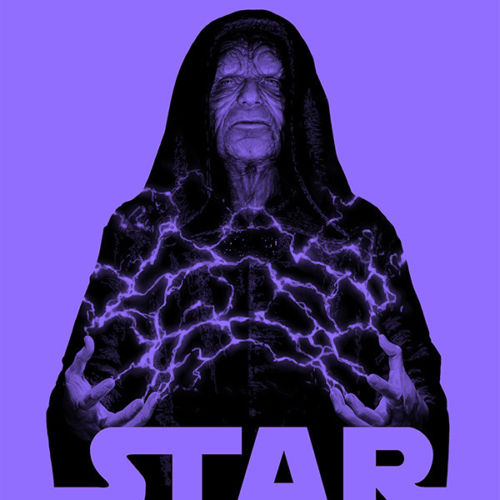 STAR WARS #58 Emperor Palpatine Negative Variant from JTC ***LIMITED TO 1000***