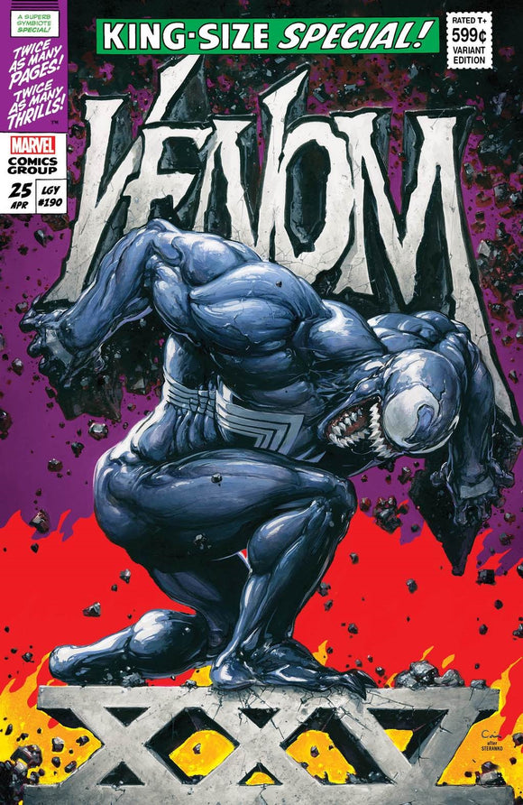 Pre-Order: VENOM #25 Clayton Crain SECRET Exclusive!