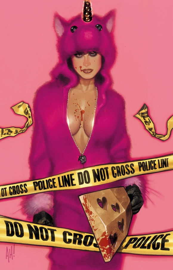 RIDE BURNING DESIRE #1 PINK ADAM HUGHES Virgin Exclusive! ***Ltd to ONLY 500 COPIES!***