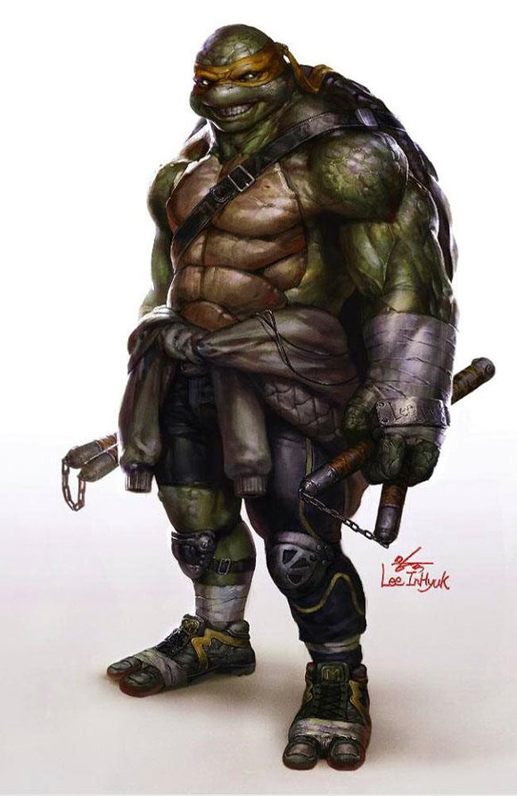 TEENAGE MUTANT NINJA TURTLES #97 INHYUK LEE