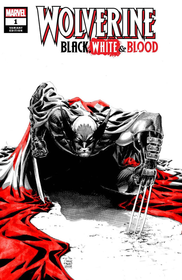 Pre-Order: WOLVERINE: Black, White, & Blood #1 Philip Tan Exclusive! 11/15/20