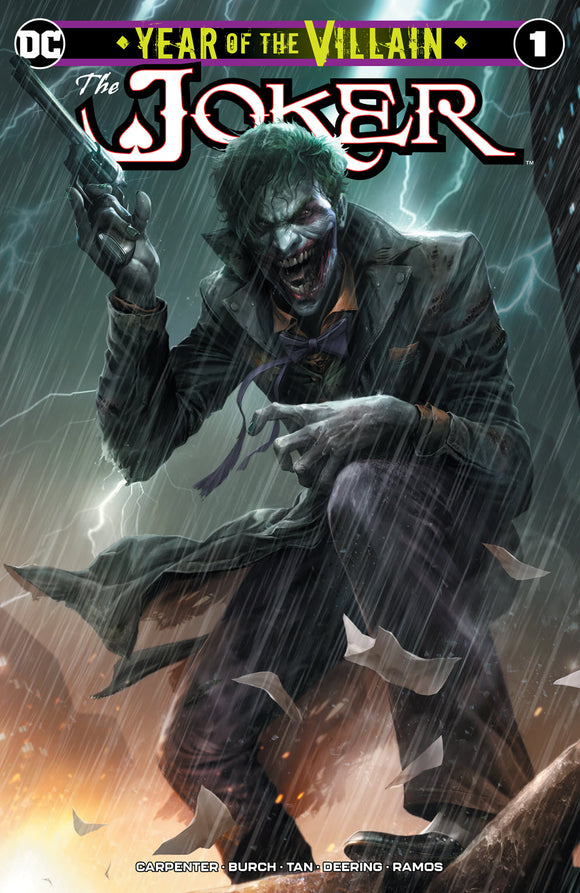 Pre-Order: THE JOKER Year of the Villain #1 Francesco Mattina EXCLUSIVE! ***Available in TRADE DRESS & SET***
