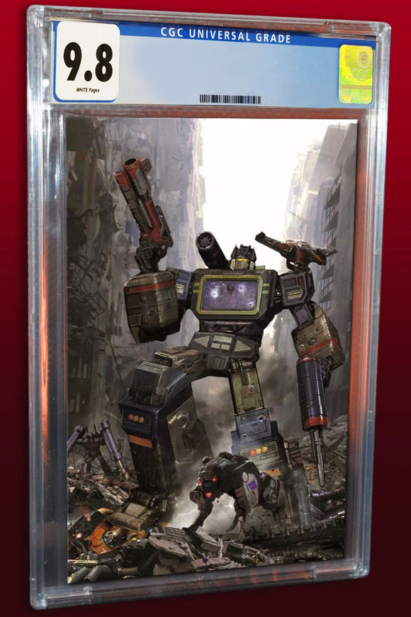 Pre-Order: TRANSFORMERS #2 John Gallagher VIRGIN Exclusive CGC 9.8 ***Please Allow 4-6 Weeks for CGC Processing After Release***