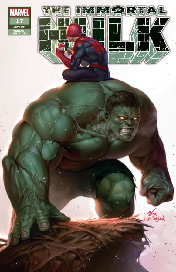 Pre-Order: THE IMMORTAL HULK #17 Inhyuk Lee Exclusive TRADE DRESS!