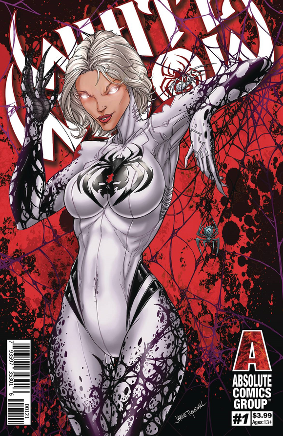 WHITE WIDOW #1 RED FOIL Variant by Jamie Tyndall! ***IN STOCK & RED HOT!!*** - Mutant Beaver Comics