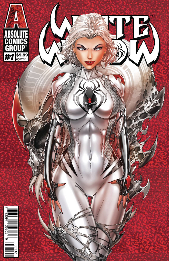 WHITE WIDOW #1 CVR C - SECOND PRINTING! (Tiny Print Run!) - Mutant Beaver Comics