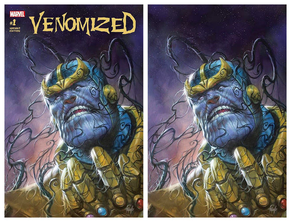 VENOMIZED #1 Exclusive SET (Trade & Virgin) Lucio Parrillo! Limited to ONLY 700 Sets Available! - Mutant Beaver Comics