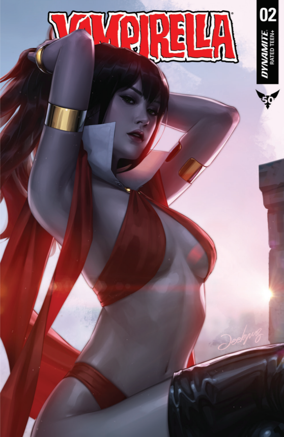Pre-Order: VAMPIRELLA #2 JEEHYUNG LEE Trade Dress Exclusive!