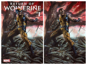 RETURN OF WOLVERINE #1 Adi Granov Exclusive SET (Trade Dress + Virgin) ***LIMITED to 1000 Sets!*** - Mutant Beaver Comics