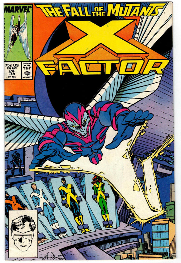 X-FACTOR #24 First Print (1st full Archangel & Origin of Apocalypse) High Grade Copy!