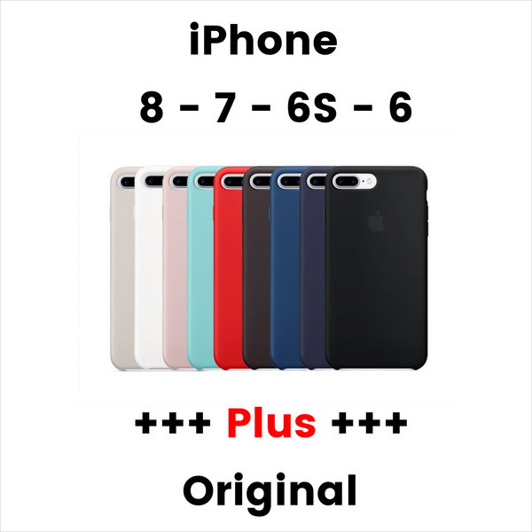 Original Silicon Protection Case For iPhone 8 - 7 - 6S - 6 - PLUS