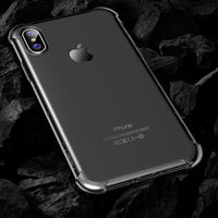 iPhone X - Strong - Transparant - Durable - Heavy Duty - Protection - Silicone - Case