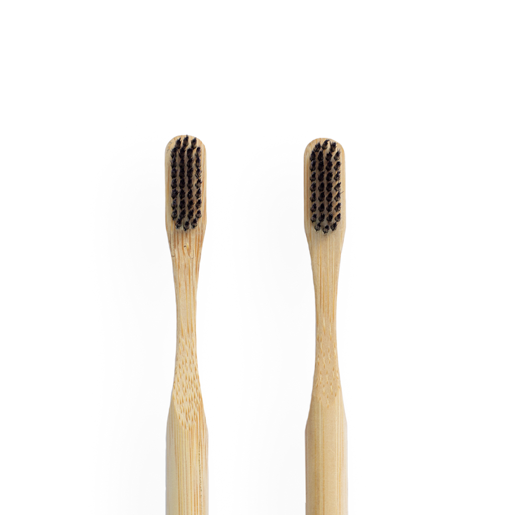 bamboo toothbrush - olive