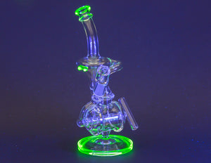 Liquid Sci Glass UV Slime Inline Recycler