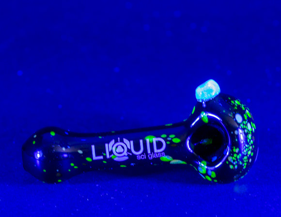 Liquid Sci Glass Moonrock Hand Pipe