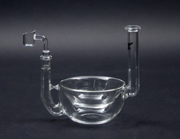 Solid Glass Cereal Snack Bowl Rig