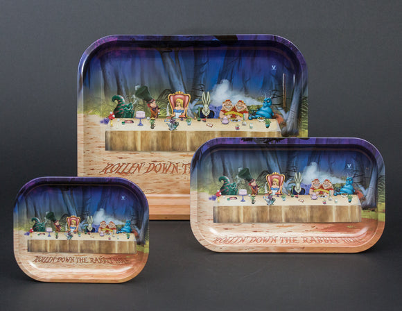 V Syndicate Alice Tea Party Metal Tray