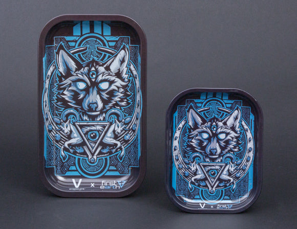 V Syndicate First Earth Wolf Metal Tray
