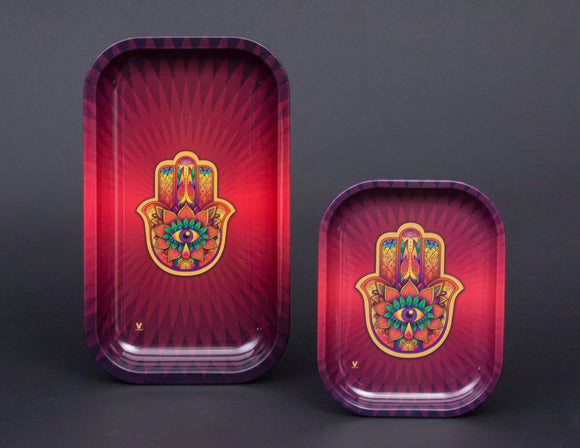 V Syndicate Hamsa Metal Tray