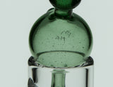Barry Glass 25mm Bubble Carb Cap Green Stardust