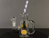 Empire Glassworks Blueberry Orange Detox Mini Rig