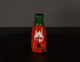 Empire Glassworks Sriracha Bottle Keychain Chillum