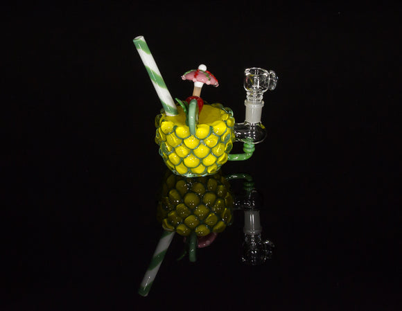 Empire Glassworks Pineapple Paradise Mini Rig