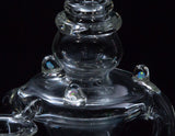Gentry Glass Clear Dual Drain Recycler