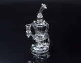 Gentry Glass Clear Single drain Recycler