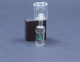 Medicali 14mm Female Quartz Thermal Banger with matching decal carb cap