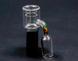 Medicali 18mm Male Quartz Thermal Banger with matching Decal Carb Cap