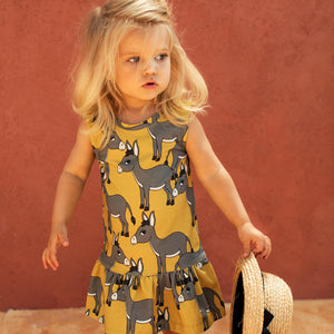 Donkey Yellow Dress