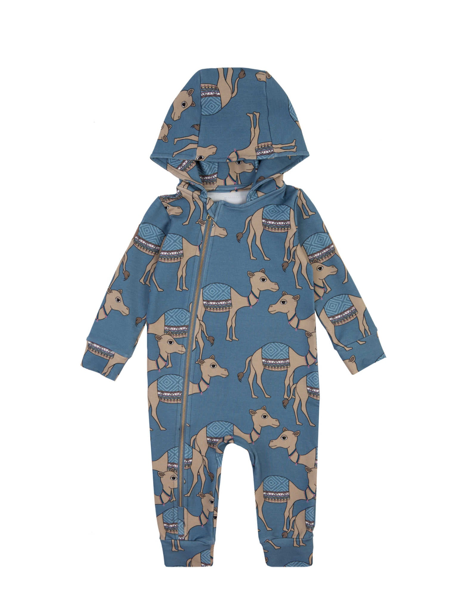 Camel Blue Overall