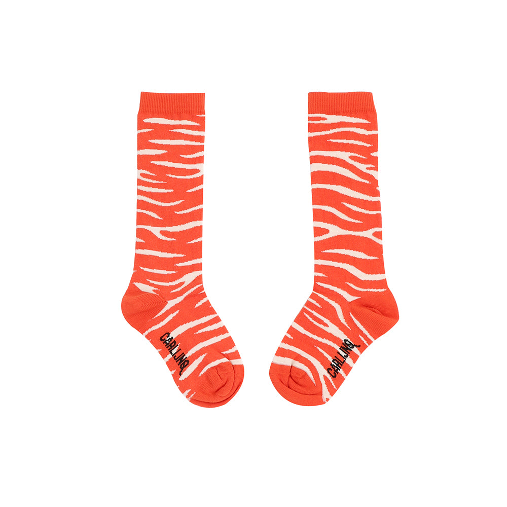 Knee Socks Tiger