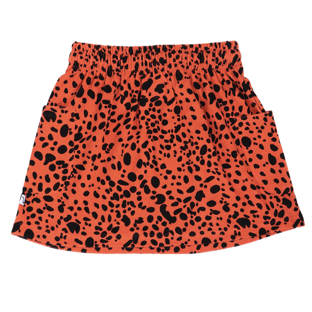 Spotted Animal Skirt