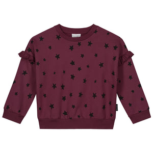 Maroon Star Sweatshirt