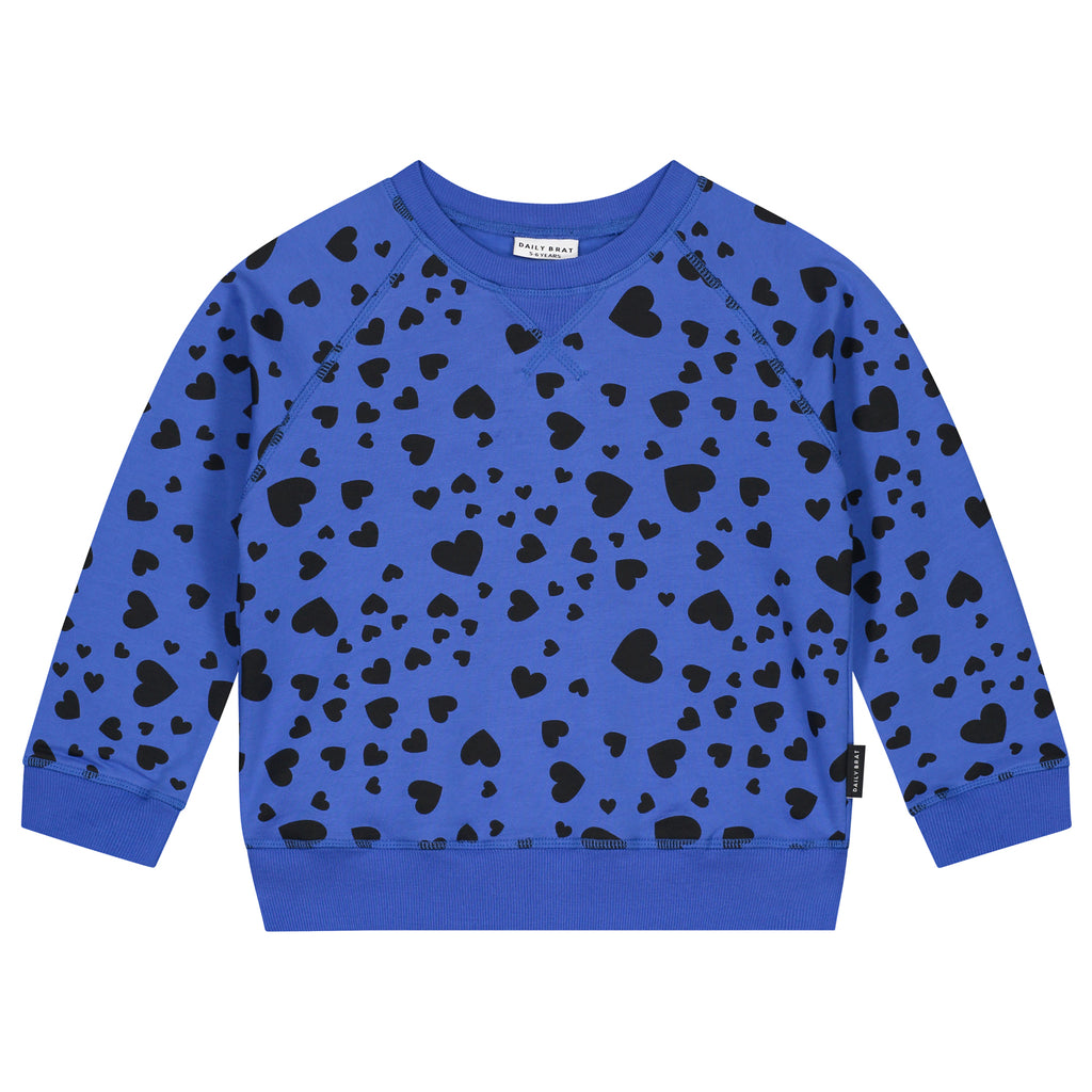 Blue Heart Sweatshirt